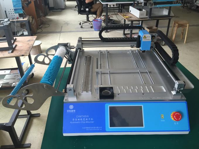 High Accuracy CHMT48VA Desktop SMT Pick And Place Machine With Vision System