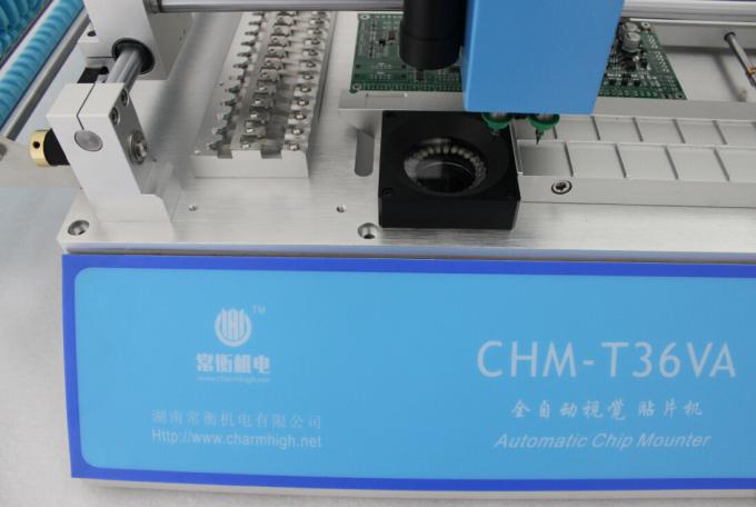 Economic Model CHMT36VA SMT Pick And Place Machine + Top and Bottom Camera + Externel PC