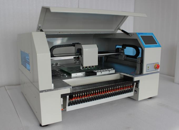 Advanced 4 Heads High speed Desktop pick and place machine CHMT530P4  + Yamaha pneumatic feeder