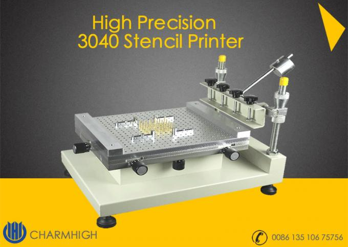 High Precision Stencil Printer ( 3040 ) Solder paste printer Manually SMT Production line