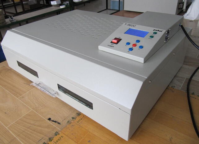 T962C 2500w Reflow Oven 400*600mm Infrared IC Heater BGA SMD SMT Soldering Welding Sation