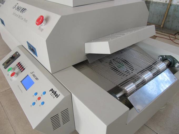 T960W 4.5KW Automatic PCB Soldering Machine LED Reflow Oven Net Transmission Chain Transmission