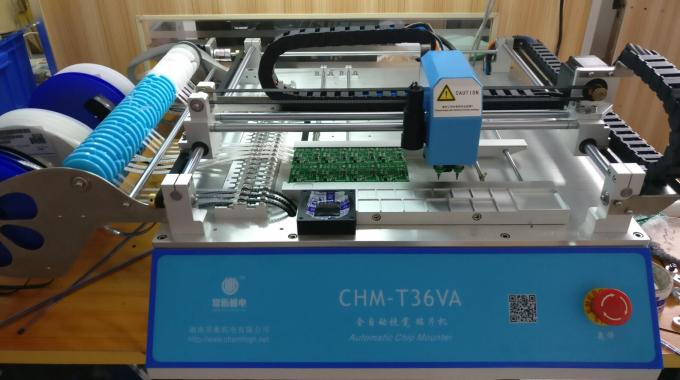 CHM-T36VA dual vision cameras, PC control SMT Pick and Place Machine