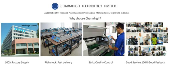 CHMT48VA Vibration feeder SMT Pick and Place Machine Prototying Batch production