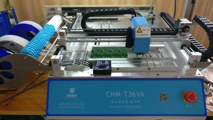 Hottest CHMT36VA + Vibration feeder p&p machine 0402-5050,SOP, QFN..