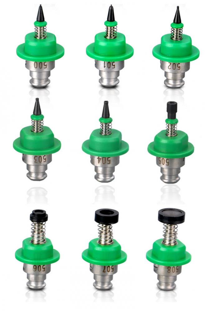 SMT Spare Part Green Juki Nozzle Charmhigh smt Pick and Place Machine 501-507