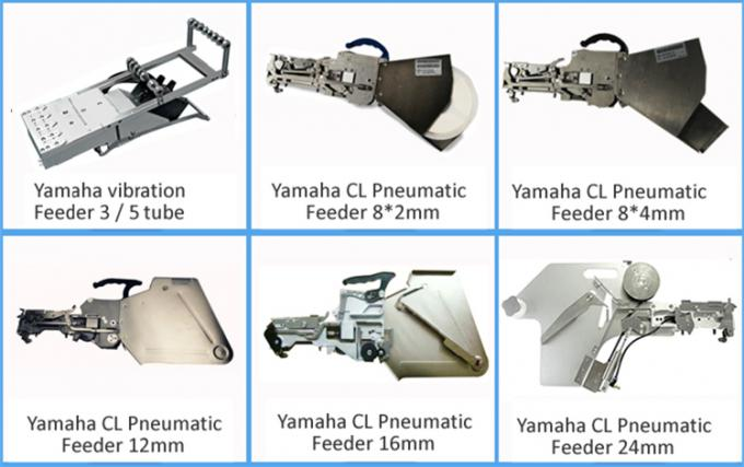 8*2mm (for 0402) Yamaha Pneumatic Feeder for CHMT530P4 / 560P4 / 510 pnp Machine