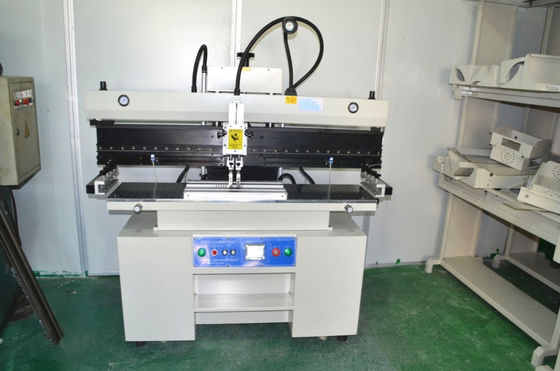 China 1.2 Meter SMT Semi Automatic Solder Paster Printer For LED, Red glue 320*1300mm supplier