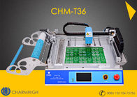 China Hot Model CHMT36 SMT SMD LED Pick And Place Machine 29 feeders/ stacks, 6000cph 110v 220V factory