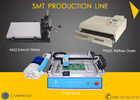 Economical SMT Prodcution Line: CHMT36VA + 4432 Stencil Printer + Reflow Oven T962C, PCB making, batch