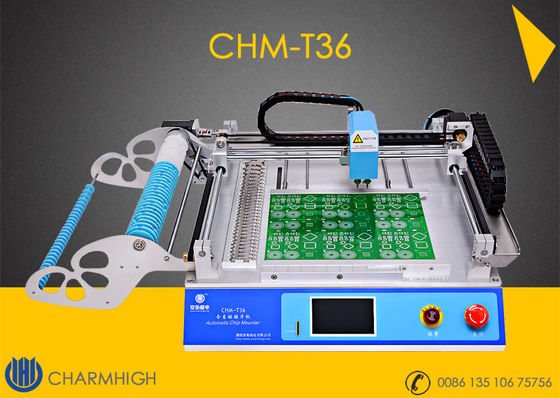 Gorący model CHMT36 SMT SMD LED Pick and Place Machine 29 podajniki / stojaki, 6000cph 110v 220V