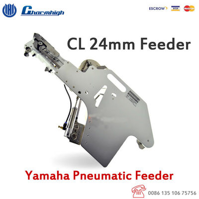 China 24mm Yamaha Pneumatic Feeder for Charmhigh CHMT528 CHMT530P4 CHMT560P4 pick and place Machine distributor